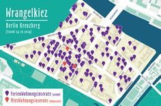 Ferien- vs. Mietwohnungen im Wrangelkiez #Berlin