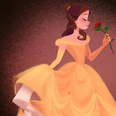 > Beautiful Belle art by - Jane Pica < Cartoon Edits, Cartoon Sketches, Cute Disney, Disney Girls, Disney And Dreamworks, Disney Pixar, Walt Disney, Barbie Drawing, Disney Doodles