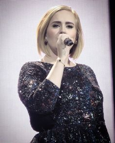 Adele performing at 'Madison Square Garden', New York (Sept. 22)