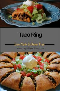 Taco RingLow Carb, Gluten Free