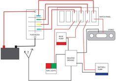 boat wiring diagram google search boat boat wiring. Black Bedroom Furniture Sets. Home Design Ideas