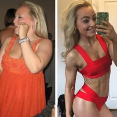 Image result for clean eating before and after