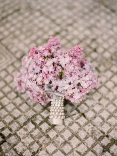 #lilac #wedding #bouquet