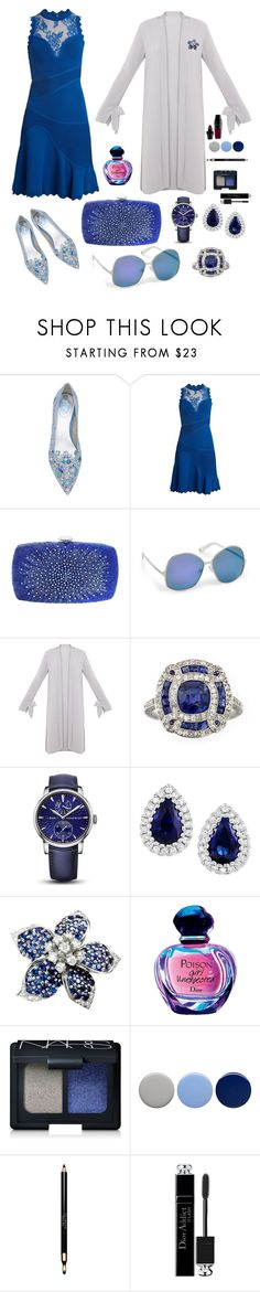 """Untitled #127"" by caminante-diblosa ❤ liked on Polyvore featuring Elie Saab, Forest of Chintz, Henri Bendel, Arnold & Son, NARS Cosmetics, Burberry, Clarins, Christian Dior, Lancôme and chicflats"