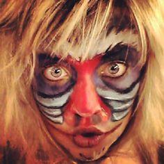Rafiki, Lion King Makeup
