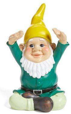 Decoris Yoga Yard Gnome