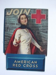 Join American Red Cross, 1938
