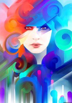 Digital Illustrations by Alex Tooth