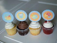 Owl Birthday Girls Birthday Cupcake Toppers 24 Baby Shower Birthday - http://www.babydecorations.net/owl-birthday-girls-birthday-cupcake-toppers-24-baby-shower-birthday/