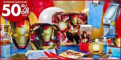 Image result for iron man verjaardag uitnodigings