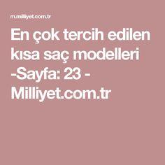 En çok tercih edilen kısa saç modelleri -Sayfa: 23 - Milliyet.com.tr