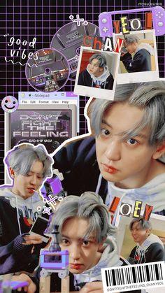 Exo Ot12, Chanbaek, Park Chanyeol, Baekhyun, Exo Stickers, 9th Anniversary, Cho Kyuhyun, How Big Is Baby, Aesthetic Backgrounds