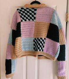 Mode Crochet, Diy Crochet, Crochet Crafts, Crochet Projects, Crochet Tops, Knitting Patterns, Crochet Patterns, Mode Ootd, Mode Streetwear