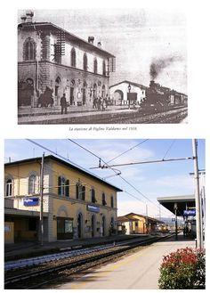 Figline - La Stazione Ferroviaria