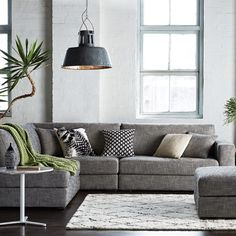 Freedom NZ Instagram | Aspect Modular Sofa - Need a grey, modular sofa right this minute.