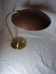 Schöne 50er 60er Schreibtisch Tisch Lampe Desk Lamp #