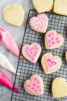 Happy Valentine's Day! Your pantry is probably stocked with everything you'll need to make these vegan coconut oil sugar cookies. Royal icing.