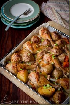 meat and potato recipes, one pot meals, bake dish, roast drumstick, food, dinner ideas, baked chicken, meat and potatoes recipes, meal roast