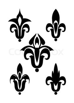 2119508-808741-heraldic-lily-vector-silhouette-isolated.jpg (345×480)