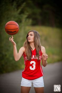 Senior Picture Ideas for Girls |  | Basketball | Click this link to follow my Senior GIRLS board for inspiration at https://www.pinterest.com/JillLevenhagen/ | #seniorpictureideasforgirls #basketballforgirls