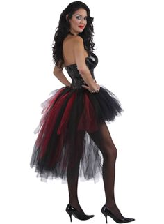 Vampiress Burlesque TutuHalloween Accessories