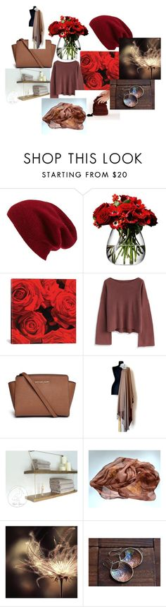 """BeautifulBrown"" by talma-vardi on Polyvore featuring Halogen, LSA International, iCanvas, Chicwish and Michael Kors"