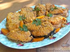 Рецепт: Фаршированная рыба (еврейская кухня) на RussianFood.com