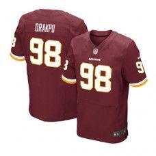 Elite Mens Nike Washington Redskins #98 Brian Orakpo Team Color NFL Jersey$129.99