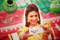 Photographer - The Bride Divyanka! Photos, Hindu Culture, Gold Color, Candid Clicks, Bridal Photography , Haldi pictures, images,  WeddingPlz