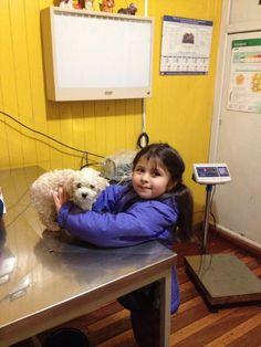 En el Doctor con la Olivia
