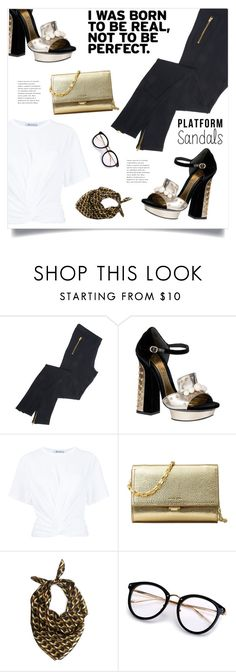 """Not Perfect"" by marina-volaric ❤ liked on Polyvore featuring Alexander McQueen, T By Alexander Wang, Michael Kors, KathKath Studio and platforms"