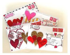 Image result for valentine mail art