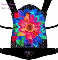 "♥ This beautiful fully adjustable ""AURELIA MAGIC"" carrier will be available ONLY IN A FEW PIECES (detachable hood is included). ♥ If you are interested in submitting a reservation, please contact us: info@madamegoogoo.com"