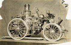 N.Y. Fire Department Model Steam Fire Engine, 1906.  Frederick H. Smyth Fire Photos, PR 063, NYHS Image #83389d.