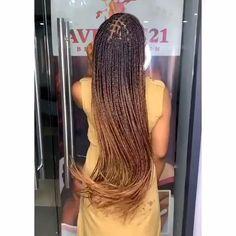 Braids Hairstyles Pictures, Box Braids Hairstyles For Black Women, Twist Braid Hairstyles, African Braids Hairstyles, Braids For Black Hair, Protective Hairstyles, Wig Hairstyles, Brown Box Braids, Box Braids Bun