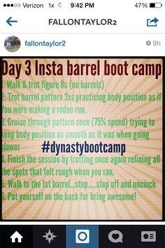 Day Three: Insta Barrel Bootcamp - Fallon Taylor Tips