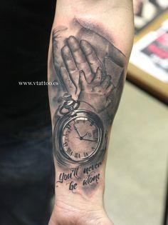 hand watch tattoo copia