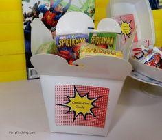 Big Bang Theory Party, comic-con candy