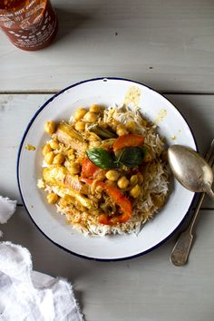 Eggplant and Chickpea Coconut Curry | Flourishing Foodie