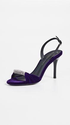 db13db726f951 Giuseppe Zanotti Ali patent-leather and Perspex sandals (2,370 SAR ...