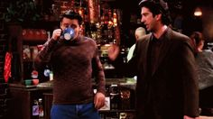 Pin for Later: 55 Times You Wanted to Be Part of the Friends Crew When Joey Puts Ross in His Place