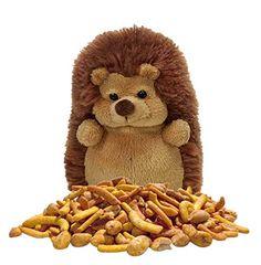 Hedgehog Stuffed Animal Snack Back Buddy Gift Set, Plush Toy with Treat, 7 Ounces (Spicy Cajun Party Mix) Animal Snacks, Party Mix, Gift Store, Hedgehog, Spicy, Plush, Teddy Bear, Treats, Toys