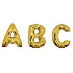 Folieballon letters 100 cm goud
