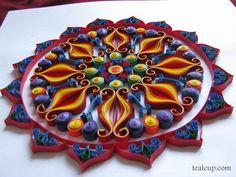 Quilled Mandala
