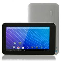 Dual Core -- Affordable android tablet (White) An affordable dual core android tablet with front and rear cameras word and powerpoint £58.00