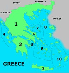 Greece maps