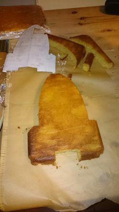 Phase 1 - Rocket ship cake