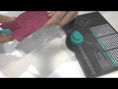 Envelope Punch Board from We R Memory Keepers at CHA 2013 (makes 60 different envelope sizes)