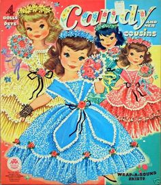 cousins Paper Dolls | Candy and Her Cousins paper dolls | 3⃣3 Sisters3⃣