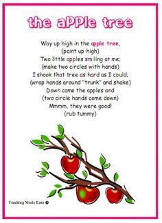 fingerplays for preschoolers - Google Search | Fingerplays ...